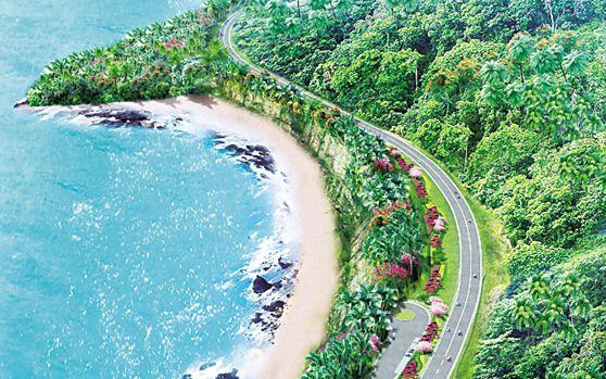 海南环岛旅游公路主线长约1000公里 乐东段63公里
